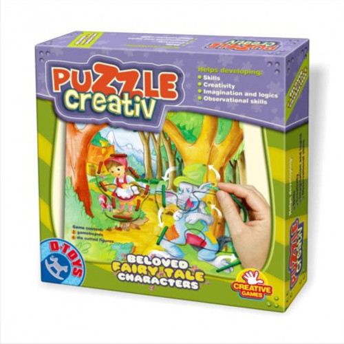 Puzzle Creativ Personaje din Basme Celebre