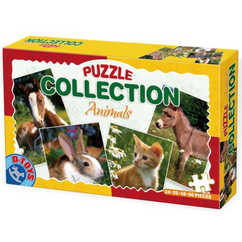 D-Toys Puzzle Colectie Animale