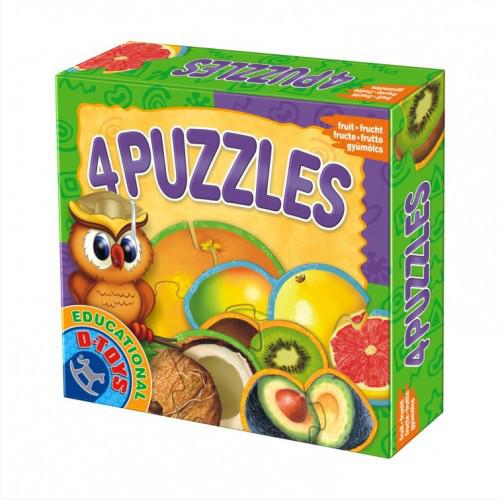 4 Puzzle - Fructe Exotice