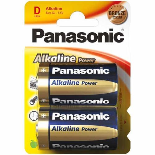 Set 2 Baterii Tip D Alkaline Power thumbnail