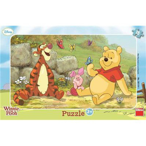 Puzzle Ursuletul Winnie 15 Piese
