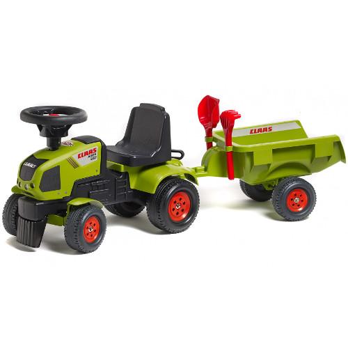 Tractoras Baby Axos cu Remorca