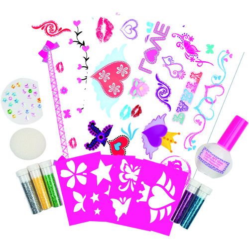 Glitter Tattoo - Kit Tatuaje cu Sclipici