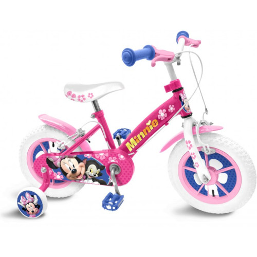 Stamp Bicicleta Minnie Mouse, 12 inch