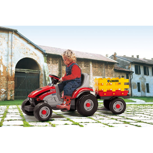 Tractor cu Remorca Mini Tony Tigre
