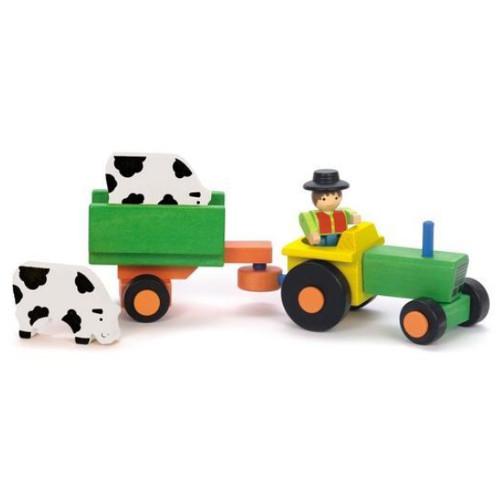 Jeujura Tractor cu Remorca si Accesorii