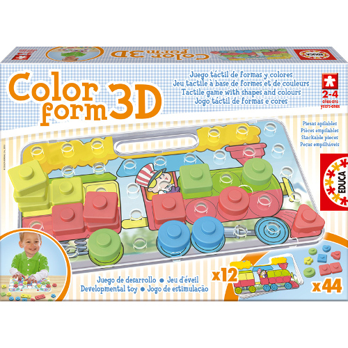 Puzzle Color Form 3D