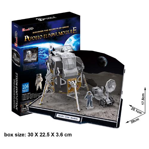 Puzzle 3D Apollo Lunar Module