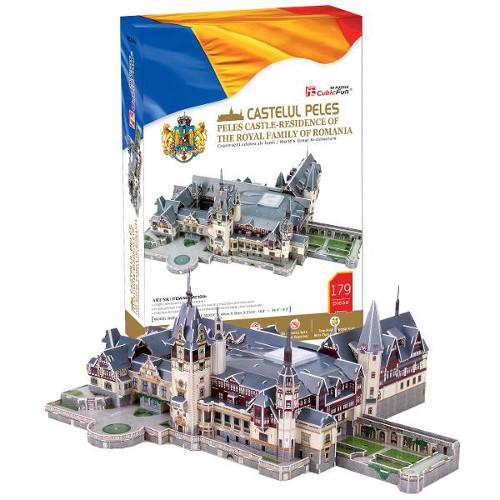 CubicFun Puzzle 3D Castelul Peles