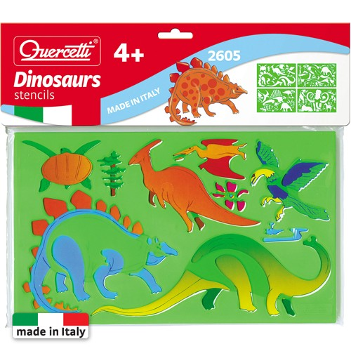 Quercetti Sabloane Basic Dinozauri