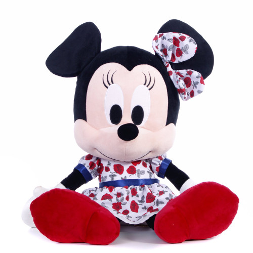 Mascota de Plus I Love Minnie Rosie 25 cm
