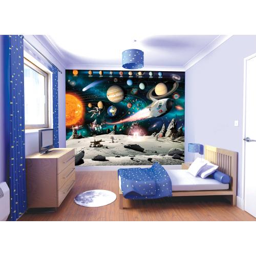Tapet pentru Copii Space Adventures