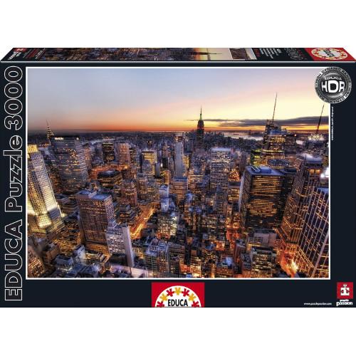 Puzzle Manhattan, New York - 3000 Piese