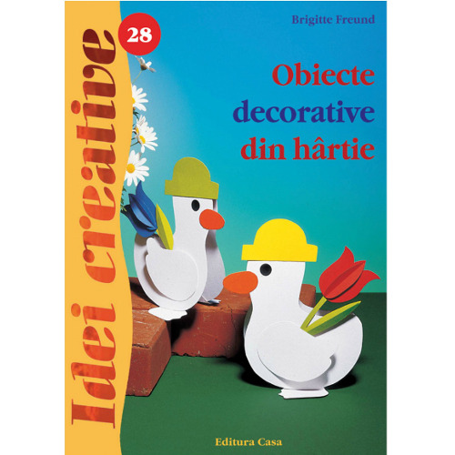 Obiecte Decorative din Hartie 28 - Idei Creative