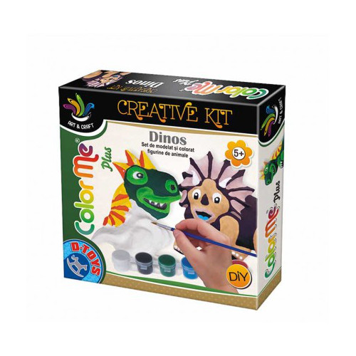 Joc Creativ Color Me Plus Dino