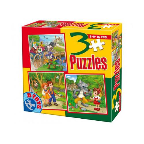 Puzzle 3 Progresiv Basme Model 6