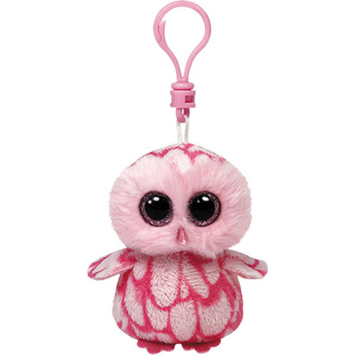 Ty Breloc Bufnita Pinky 8.5 cm