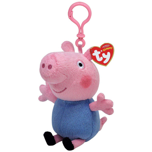 Ty Breloc Peppa Pig George 8.5 cm
