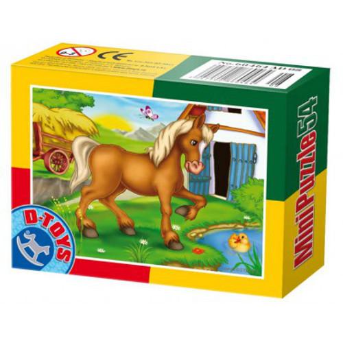 Mini Puzzle 54 Piese Calut