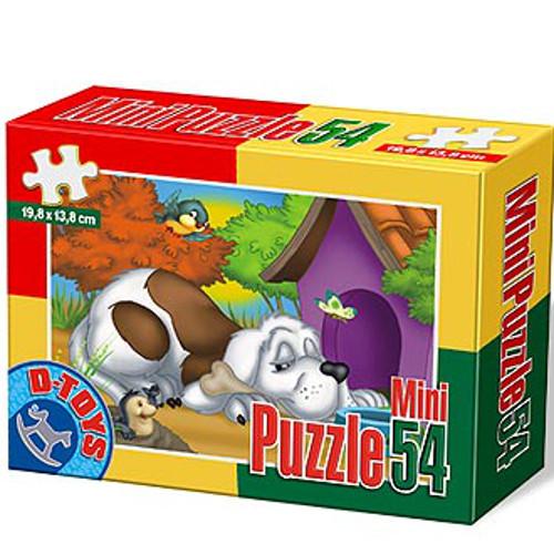 Mini Puzzle 54 Piese Catel