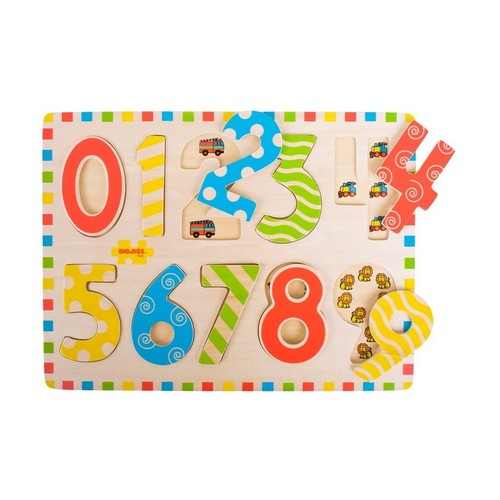 Bigjigs Puzzle Mare 123