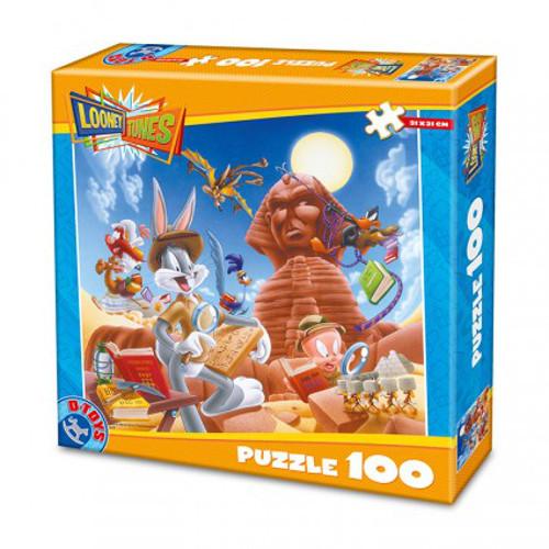Puzzle 100 Piese Looney Tunes Piramida