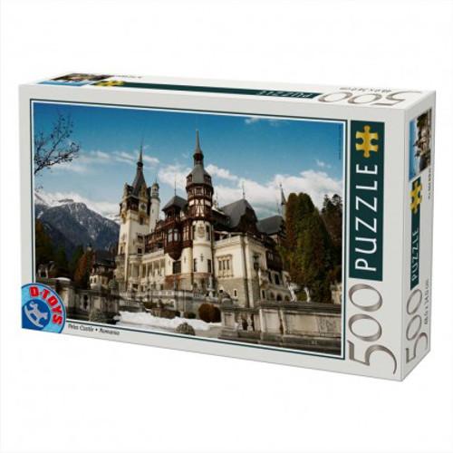 Puzzle 500 Piese Castelul Peles Romania