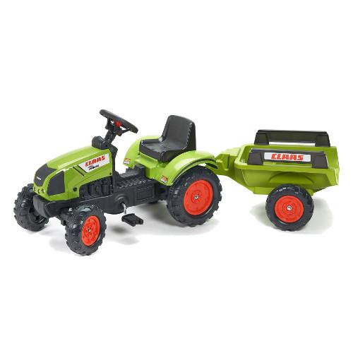 Tractor Claas cu Pedale si Remorca