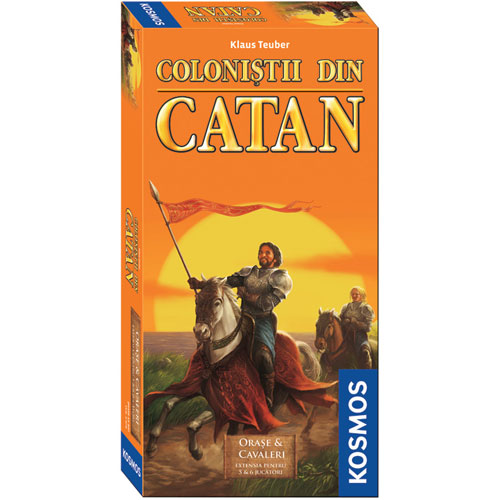 Colonistii din Catan - Extensie Orase si Cavaleri 5-6 Jucatori