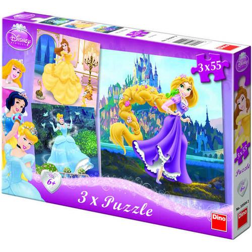Puzzle 3 in 1 - Princess