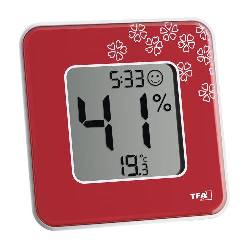 Termometru si Higrometru Digital de Camera Style Red