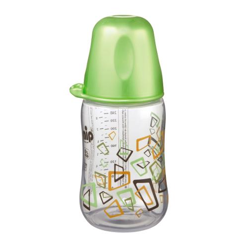Biberon 260 ml cu Gat Larg Verde