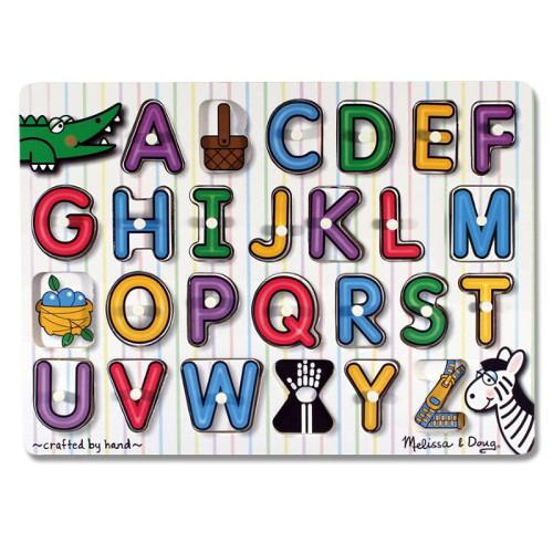Puzzle din Lemn Alfabet