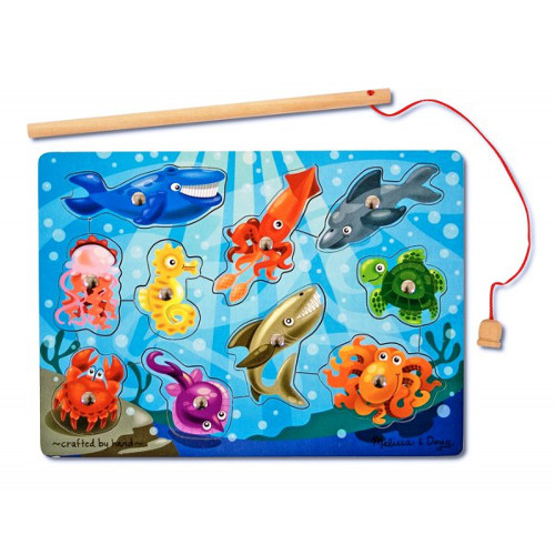Joc de Pescuit Magnetic Animale Marine