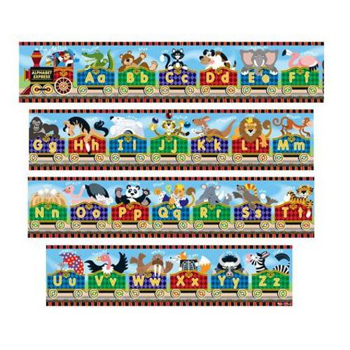 Puzzle de Podea Gigant Alfabet Express