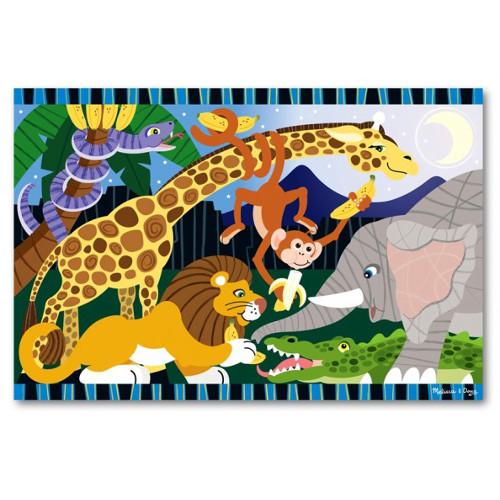 Melissa and Doug Puzzle de Podea Safari Social
