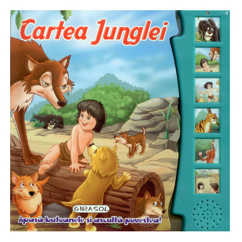 Citeste si Asculta Cartea Junglei thumbnail