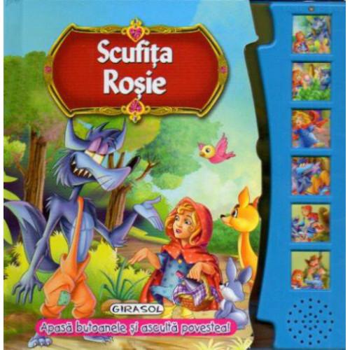 Citeste si Asculta Scufita Rosie