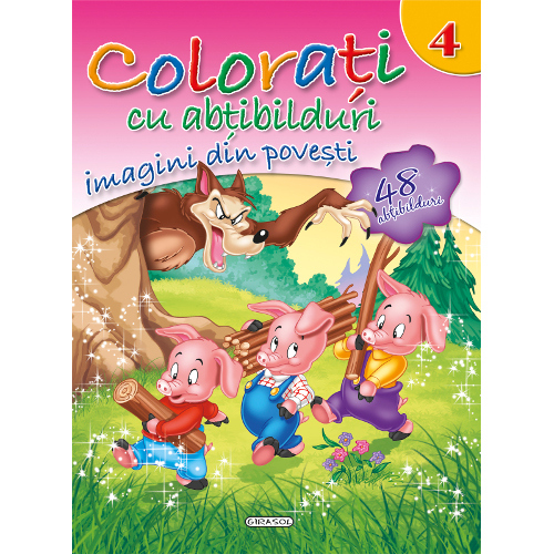Colorati cu Abtibilduri, Nr.4 - Imagini din Povesti