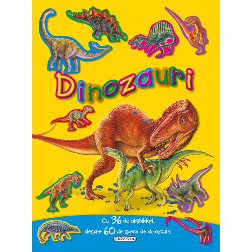Dinozauri cu 36 de Abtibilduri thumbnail