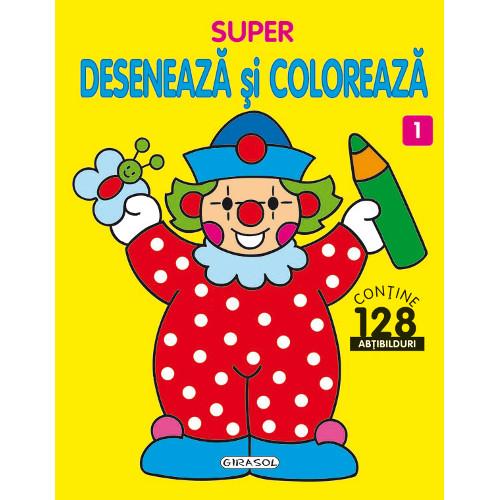 Super Deseneaza si Coloreaza Nr.1 thumbnail