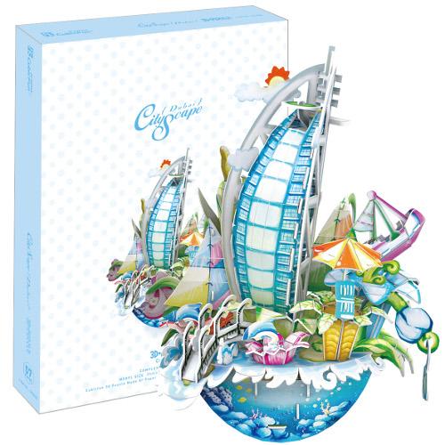 Puzzle 3D City Scape Dubai