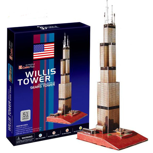 Puzzle 3D Turnul Sears