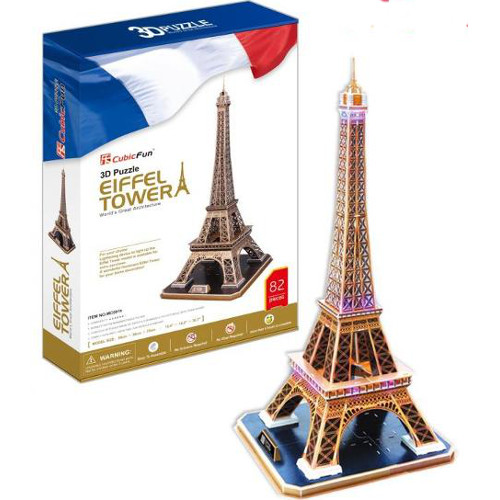 Puzzle 3D Turnul Eiffel 82 Piese