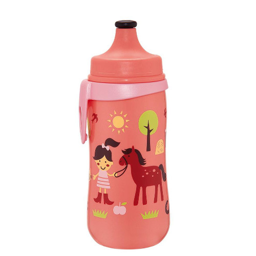 Cana Kids Cup Girl 330 ml Antipicurare cu Clip de Prindere thumbnail