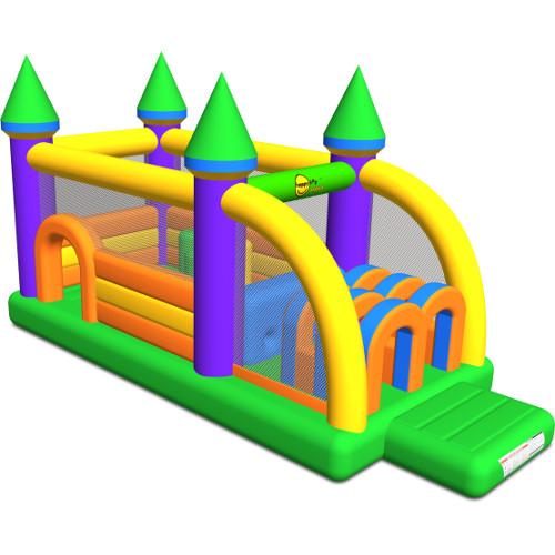 Happy Hop Saltea Gonflabila Profesionala Castel cu Obstacole