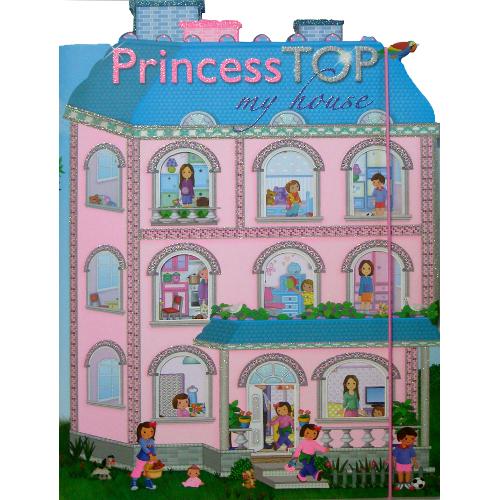 Princess Top - My House Blue thumbnail