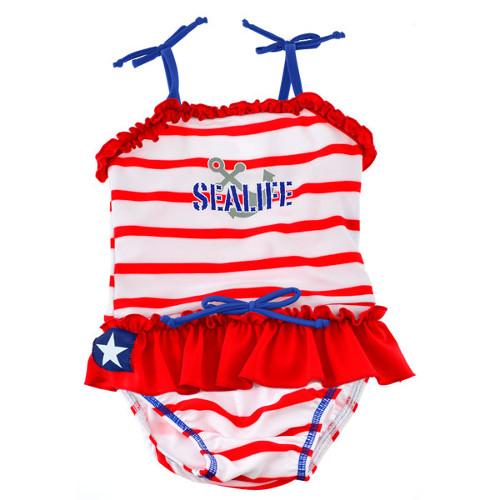 Costum de Baie SeaLife Red L imagine