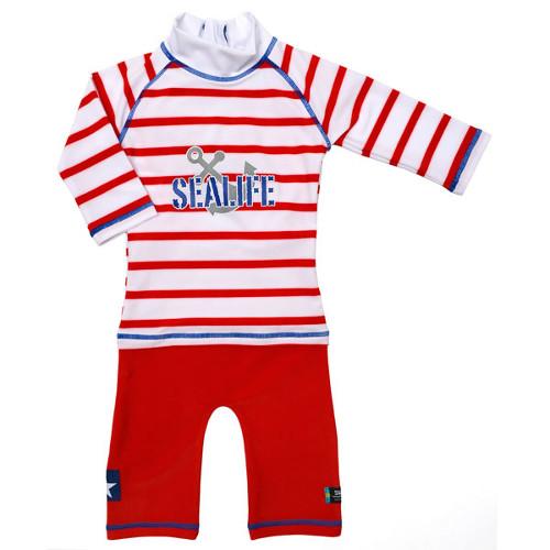 Costum de Baie SeaLife Red 98-104 imagine