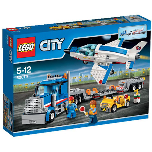 LEGO City Transportor de Avion cu Reactie 60079